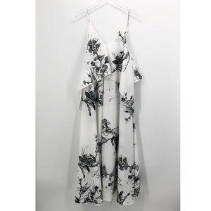 ASOS Layered Floral Maxi Dress